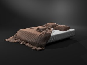 3D bed displacements model