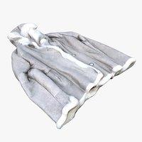 winter coat 3D model