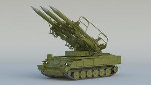 2k12 kub sa-6 3D model