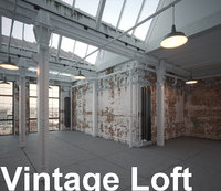 industrial loft apartment old model