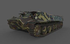 mt lb 3D model