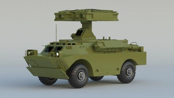 3D model sa-9 gaskin 9k31