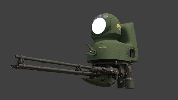 tm197b gun 300t 3D