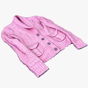 female jacket 3D model