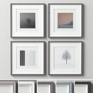 picture frames set model