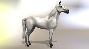 horse animals 3D model