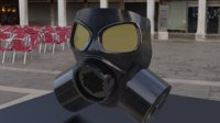 Military Gas Mask