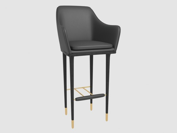 3D lunar bar chair stellar model