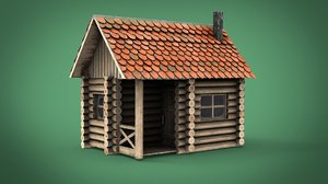 spring cabin 3D model