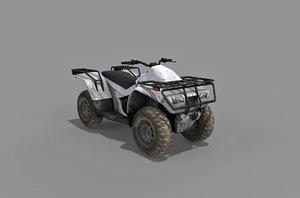 3D quad bike