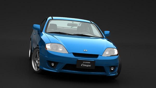 3D hyundai coupe