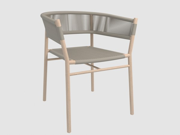 3D kilt armchair ethimo model