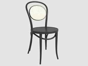 thonet chair 15 ton 3D
