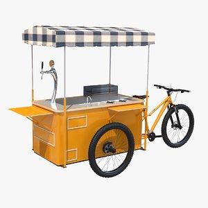 street food bike 3D model