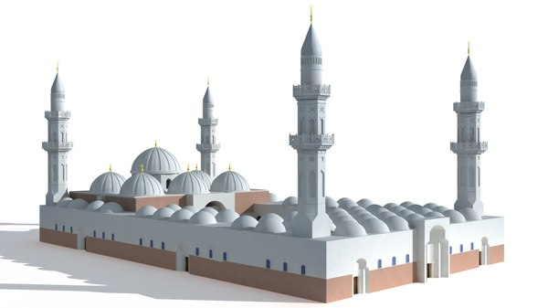 3D masjid quba model