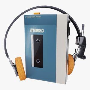 cassette player model