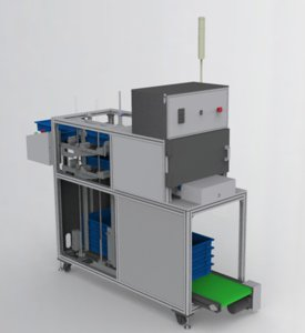 3D stacking box feeding machine