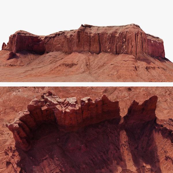 3D model arizona valley 2
