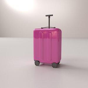 luggage bag 3D