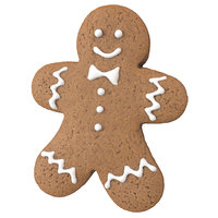 Highly Detailed Gingerbread Man Scan
