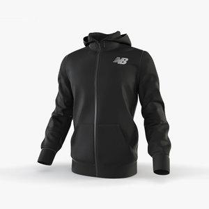 hoodie fashion 3D model