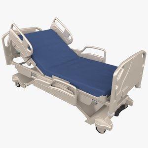 3D model hospital bed