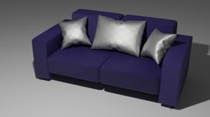 3D sofa furniture couch