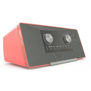 3D model radio device
