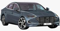 Hyundai Sonata 2020 (Opening doors)