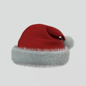 santa claus hat 3D model