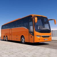 3D model tourist bus