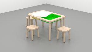 ikea flisat table chairs model