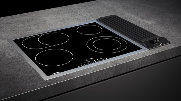 3D gaggenau cooktop 200 ce261114 model