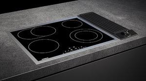 3D gaggenau cooktop 200 ce261114 model