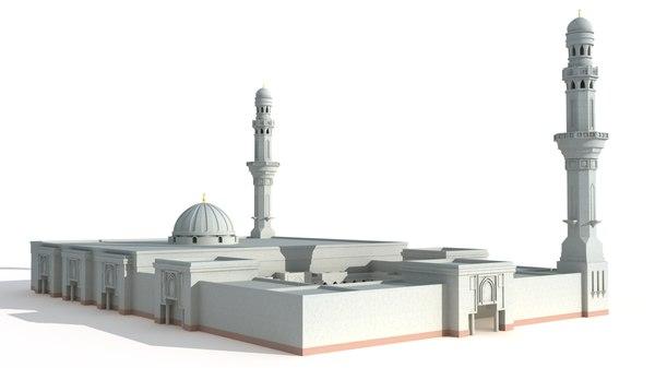 3D masjid saba
