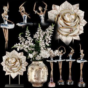 3D model decorative set 59