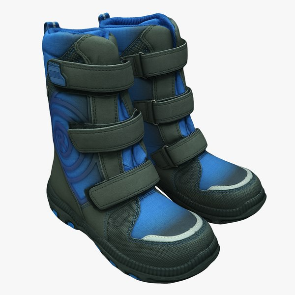 scan winter boots model