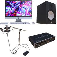 3D model music production recording condenser