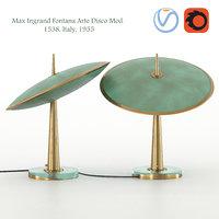 3D ingrand fontana arte disco model