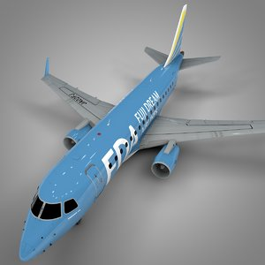 fuji dream ja02fj embraer170 3D