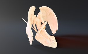 3D lucifer morningstar model