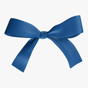 ribbon bow untie model