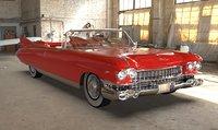 Cadillac Eldorado Biarritz  1959 Blender 2.8