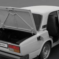 2107 lada 3D model