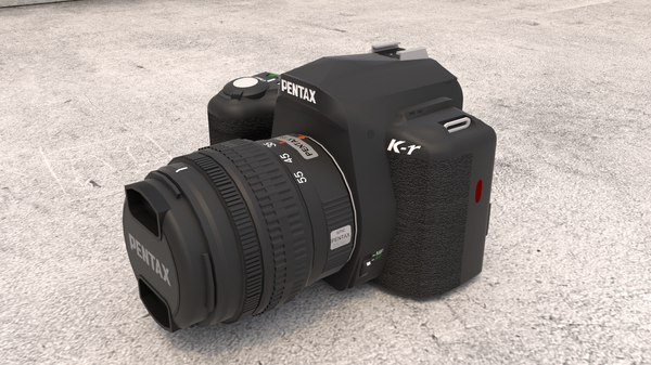 camera electronic dslr 3D model