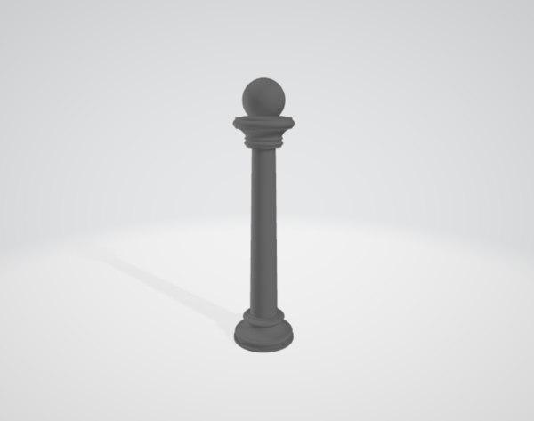3D artificial pillar