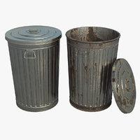 pbr dustbin model