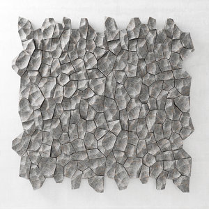 panel stone rock 3D model