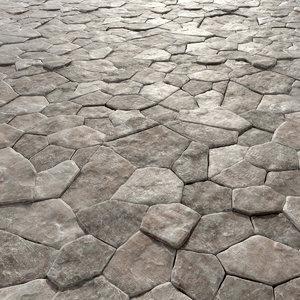 tiled 3D model