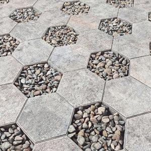 3D tiled